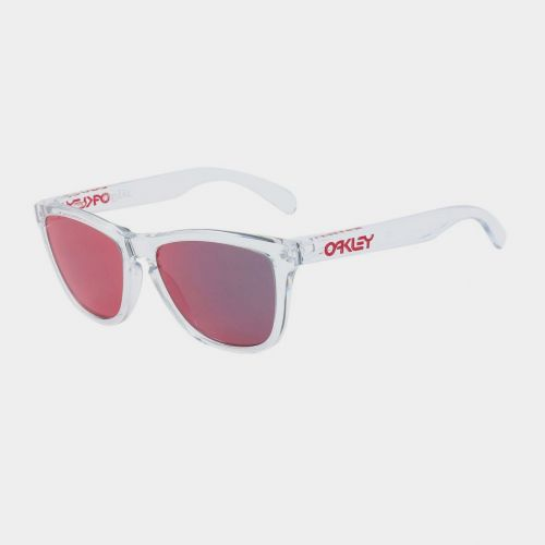OAKLEY OO9013-A5 FROGSKINS CRYSTEL CLEAR TORCH IRRIDIUM # ON335WH55 - ON335WH55