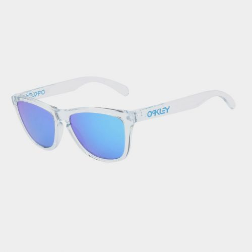 OAKLEY OO9013-A6 FROGSKINS CRYSTEL CLEAR SAPPHIRE IRRIDIUM # ON337WH55 - ON337WH55