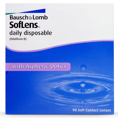 Soflens Daily Disposable (SDD) (90 Lens Pack)