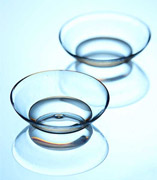Clear contact-lenses