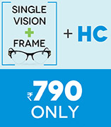 Frame + Lens at Rs.790/-