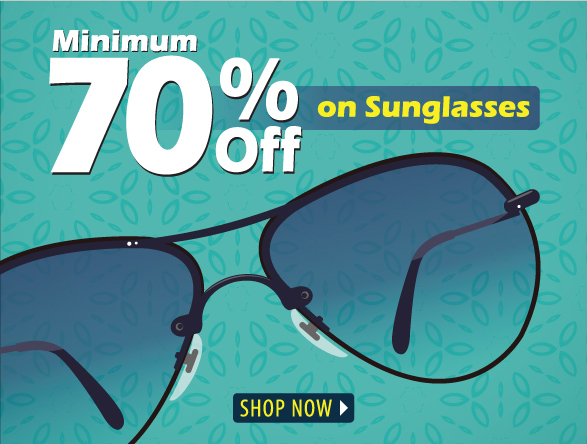 70% off on Sunglasees